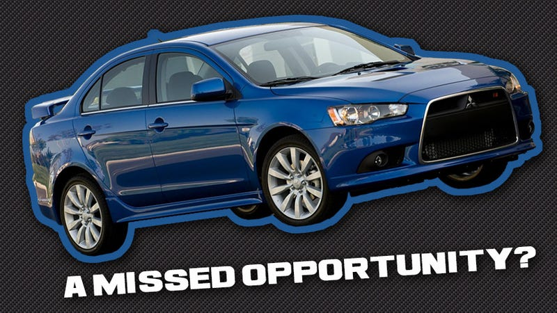 Illustration for article titled Marvelous Missed Opportunities: The Mitsubishi Lancer Ralliart