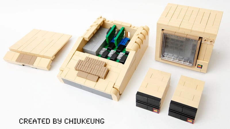 Illustration for article titled The Most Perfect Lego Apple II+ Will Make You Want a Lego Computer