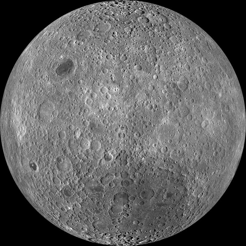 Illustration for article titled You've never seen the far side of the Moon like this before