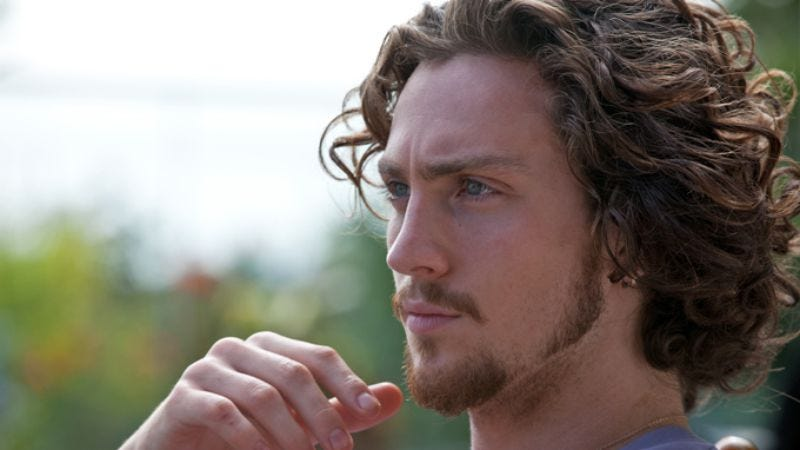 Illustration for article titled Aaron Johnson could be the non-Godzilla in Godzilla