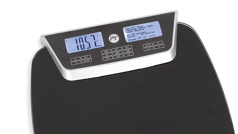 Illustration for article titled This Bathroom Scale Also Suggests Exercises To Maintain Your Weight