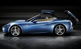 Illustration for article titled George Michael Gets License Back, Buys Ferrari California