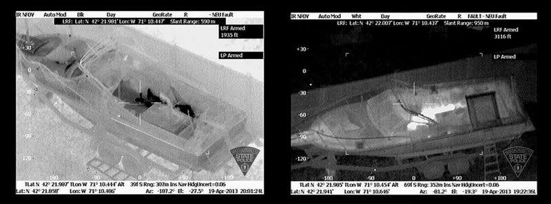 Illustration for article titled Las imágenes térmicas que ayudaron a la captura de Dzokhar Tsarnaev