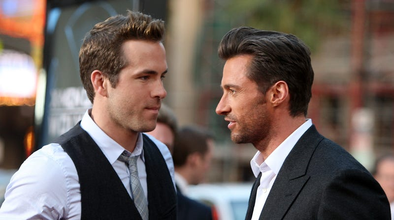 Illustration for article titled Ryan Reynolds is still desperate to get Hugh Jackman in a Deadpool movie