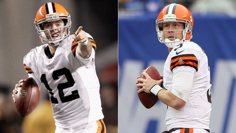 Illustration for article titled Paul Ryan Mistook Colt McCoy For Brandon Weeden At Browns Practice Today
