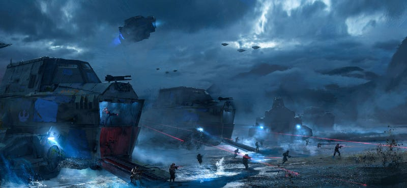 Illustration for article titled D-Day x Star Wars