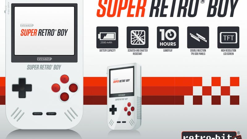 The Game Boy's Being Brought Back from the Dead with Some Awesome Upgrades