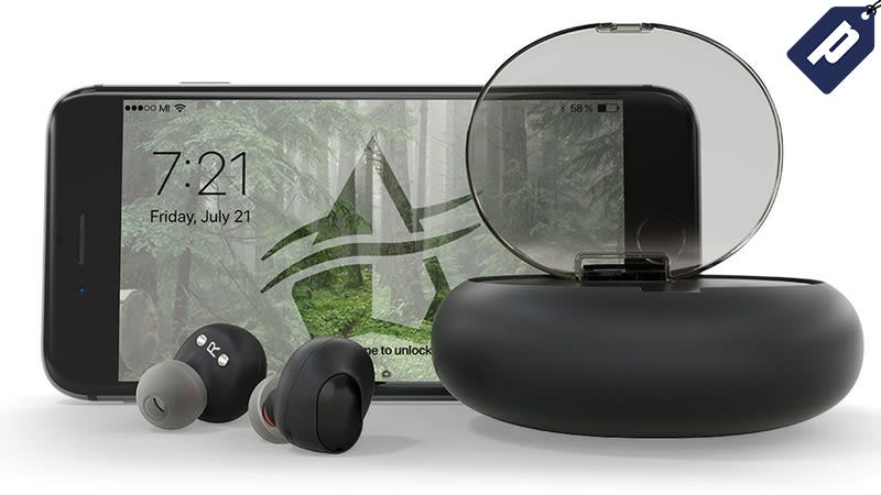 Illustration for article titled Save 40% On These Lightweight Wireless Earbuds From Ascape ($90)