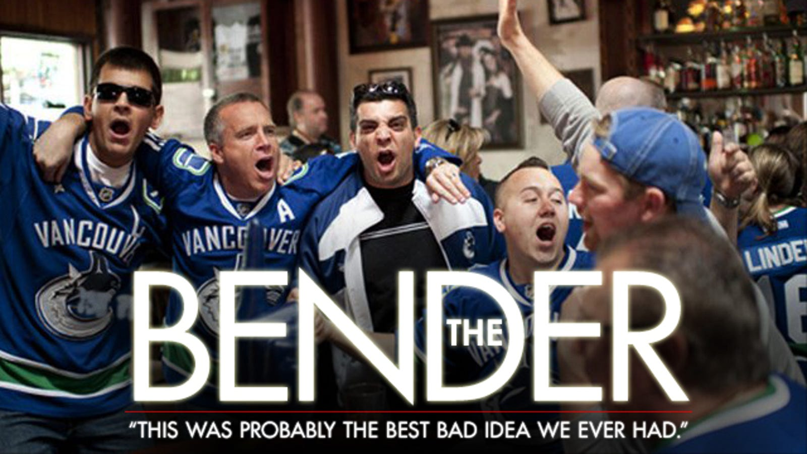 The Canucks Fan Who Drove 1,000 Miles For A Game, Partied