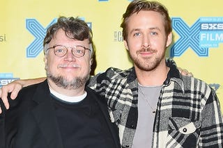 Illustration for article titled Guillermo delToro (and Ryan Gosling) working on a Haunted Mansion movie