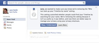 Illustration for article titled Reminder: Facebook Is Making Everyone Searchable, Check Your Privacy
