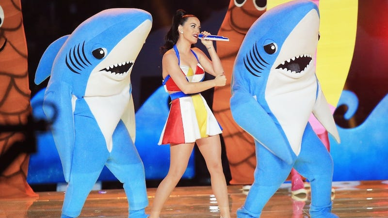 Illustration for article titled Katy Perry's Lawyers Won't Let This Dude Sell a 'Left Shark' Tchotchke