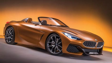 The 2019 Bmw Z4 Finally Gives Us A Good Looking Z4