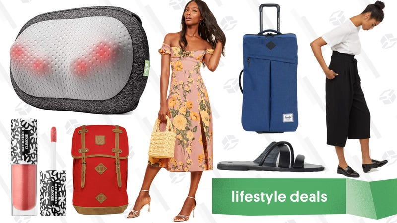 Illustration for article titled Friday's Best Lifestyle Deals: Massagers, Backcountry, Sephora, Reformation, and More