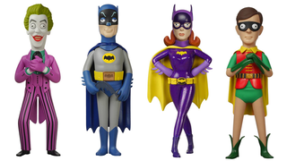 Illustration for article titled These Kooky Batman '66 Toys Look Like Aardman Animation Puppets
