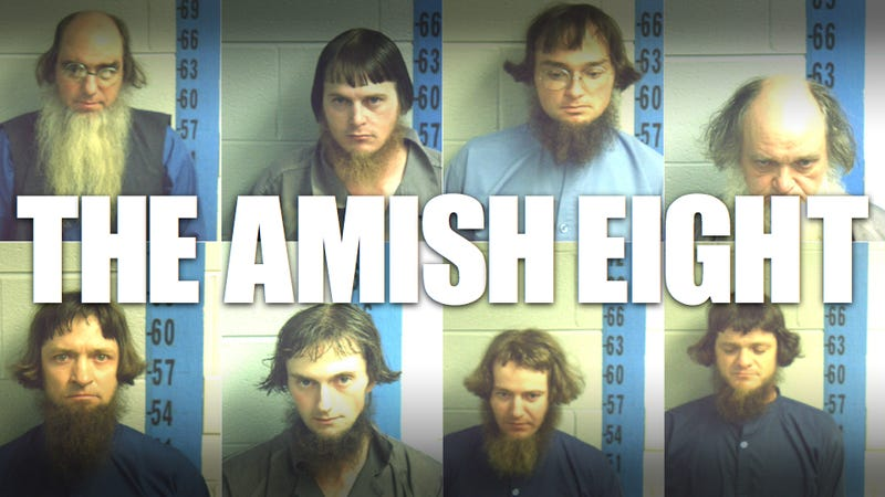 Illustration for article titled These eight Amish men are in jail over orange safety triangles