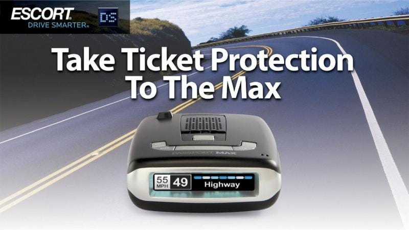 Illustration for article titled ESCORT Unleashes High Definition Performance for Drivers - SEMA Debut For PASSPORT® Max™ HD Radar Detector