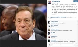 Screenshot from Gilbert Arenas' InstagramInstagram/mragentzero