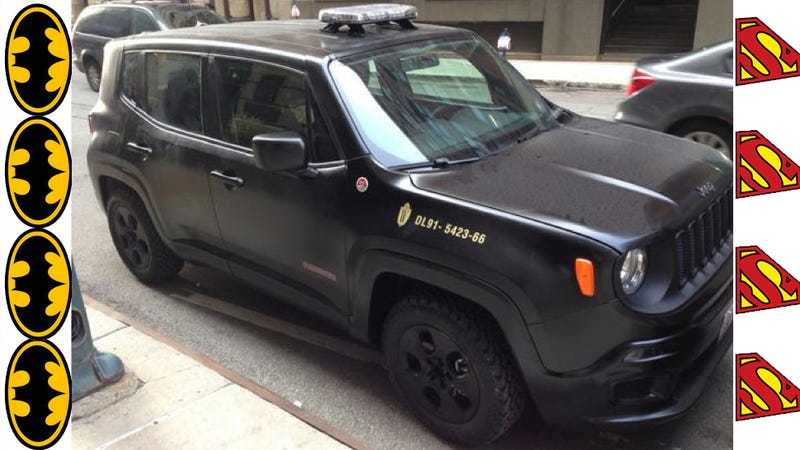 Illustration for article titled 2015 Jeep Renegade Will Work For Bruce Wayne In New Batman Movie