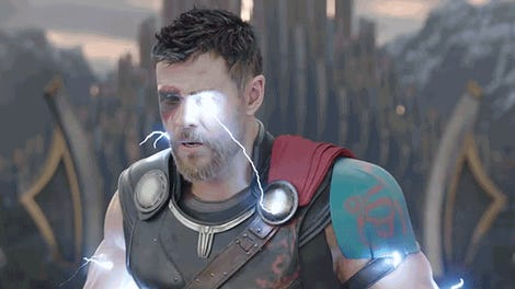 some serious movie magic was needed to destroy thor s hammer in thor