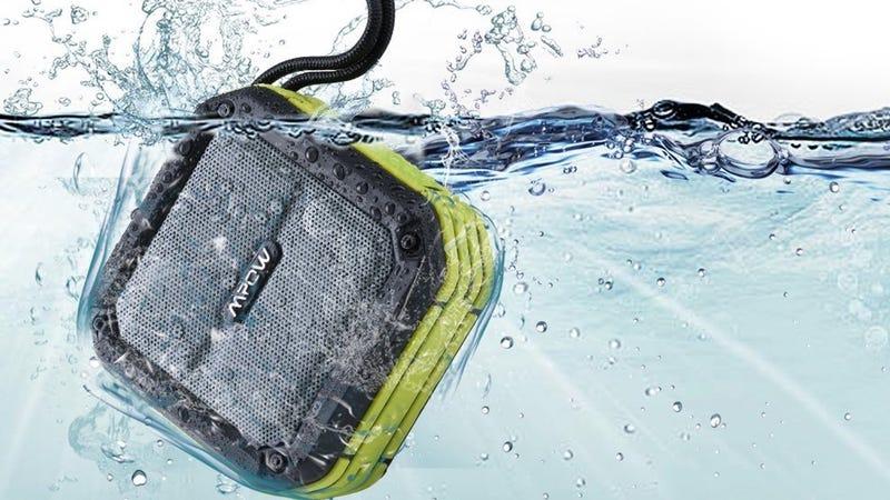 Mpow AquaPro Waterproof Bluetooth Speaker, $17 with code 3LINWNZR