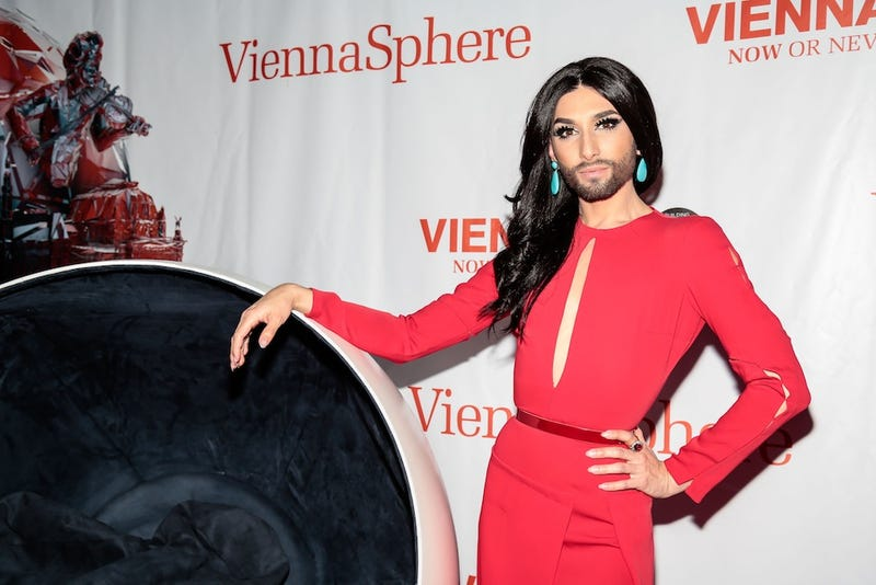 Illustration for article titled Conchita Wurst: World's Quietest Drag Queen