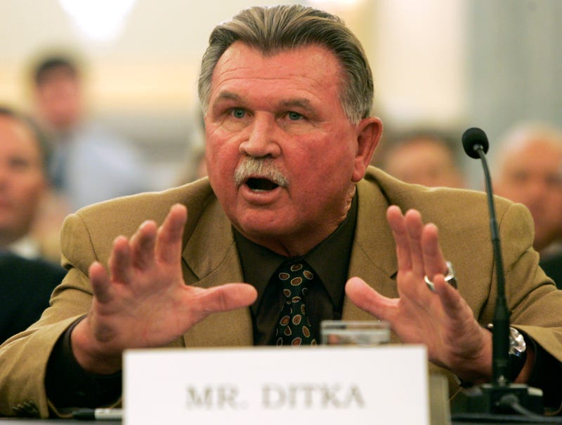 "Illustration for article titled Mike Ditka's ""Biggest Mistake"" Was Letting Obama Become President"