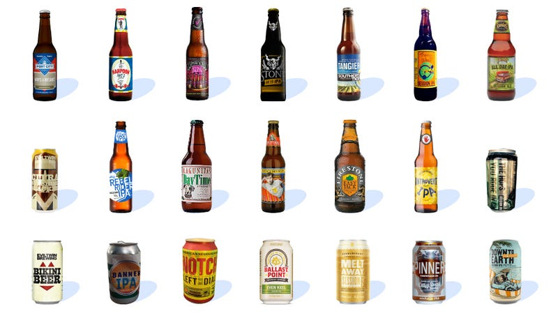 Illustration for article titled 21 Session IPAs, Ranked