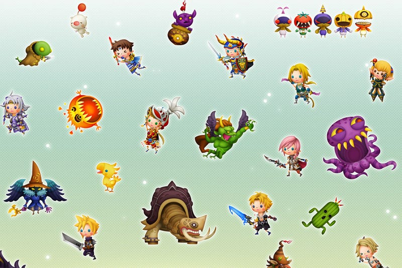 Illustration for article titled The Cutest Little Final Fantasy Characters