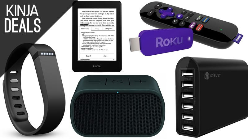Illustration for article titled Today's Best Deals: Roku Stick, Bluetooth Speakers, Fitbit, and More