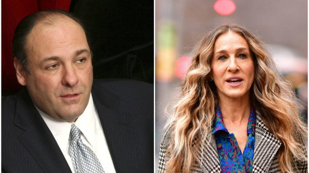 Let's read a script for the Sopranos/Sex And The City crossover fate cruelly denied us