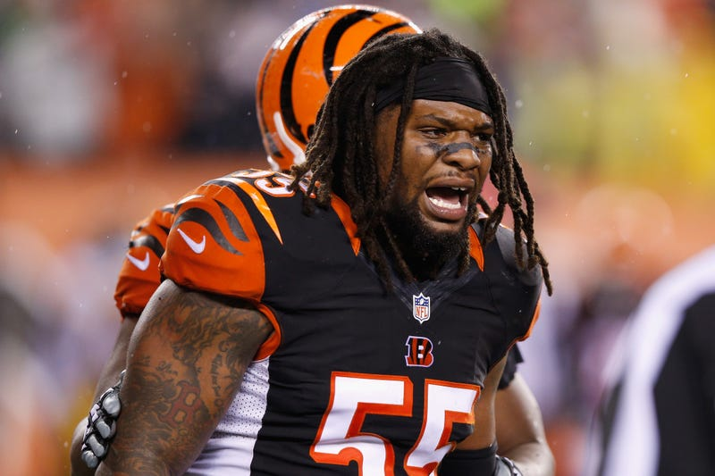 """Illustration for article titled Vontaze Burfict Suspended Three Games For """"Repeated Violations Of Safety-Related Playing Rules"""""""