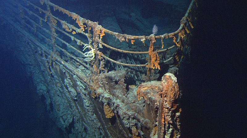 Illustration for article titled Discovery of the Titanic Was Reportedly Part of a Conspiracy to Find Lost Nuclear Submarines
