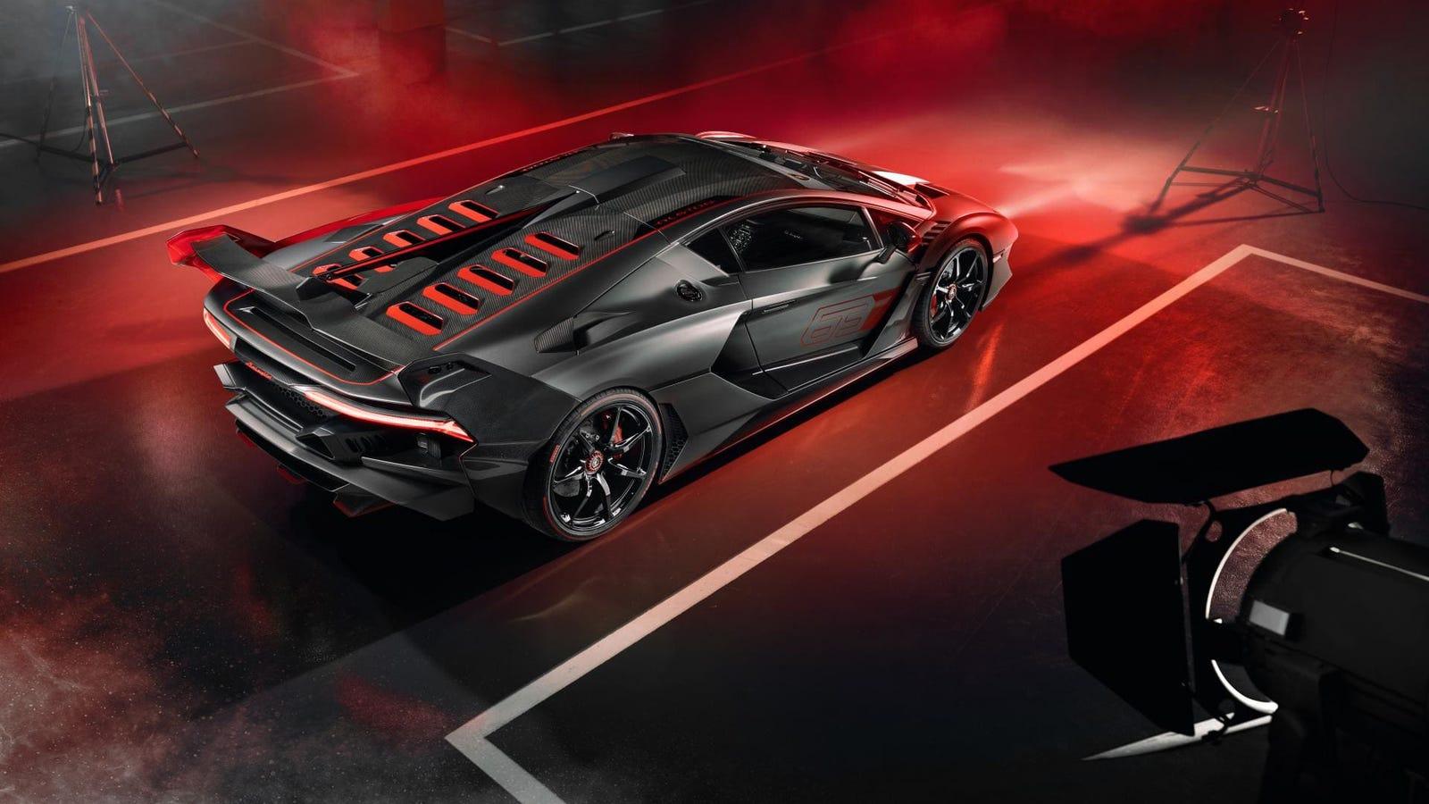 نتيجة بحث الصور عن Lamborghini SC18
