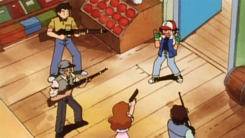 Illustration for article titled Florida Man Fires Gun At Pokémon Go Players Parked Outside His Home