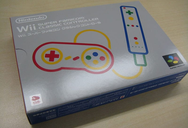 Illustration for article titled Buy A Wii Controller That Looks Like A SNES Pad