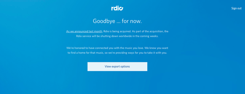 Illustration for article titled How to Move Your Rdio Playlists to Spotify