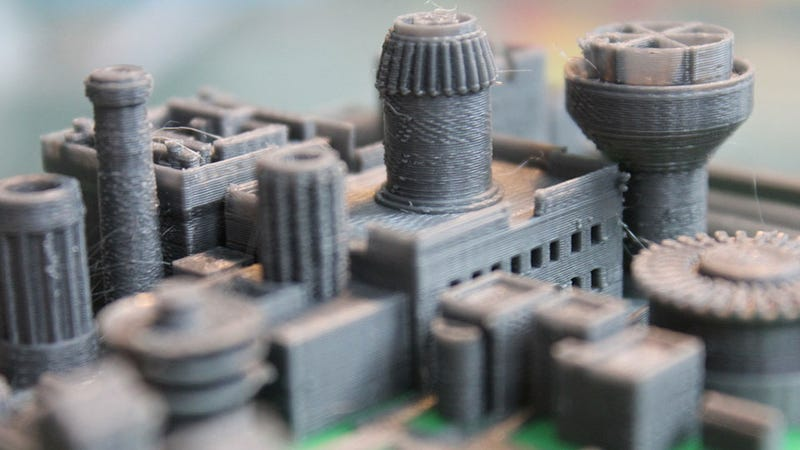 Illustration for article titled Printer Is Coming With This Incredible Model Of Winterfell