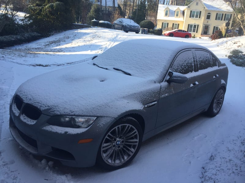 M3 in the snow in 2017.