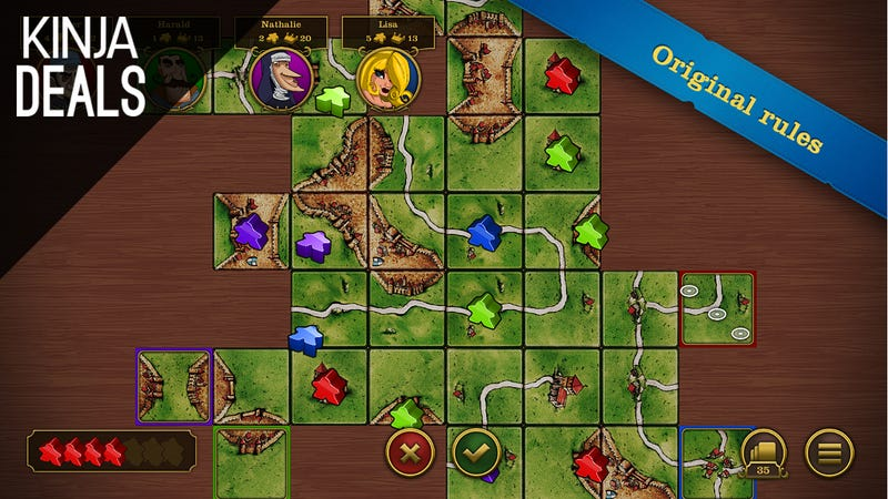 Illustration for article titled Today's Best App Deals: Carcassonne, MacID, Android Wear, and More