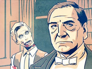 Illustration for article titled Zombies invade Downtown Abbey and the Dowager Countess is quite unamused