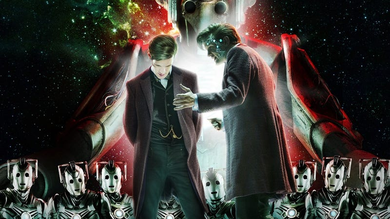 Illustration for article titled Neil Gaiman gives Doctor Who's Cybermen what they need: a new legend