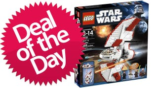 Illustration for article titled This Lego T-6 Jedi Shuttle Is Your Don't-Try-The-Kessel-Run-With-This-One Deal of the Day