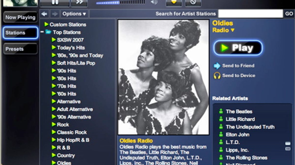 Slacker Music Delivers Tunes Online, Over Satellite, and via