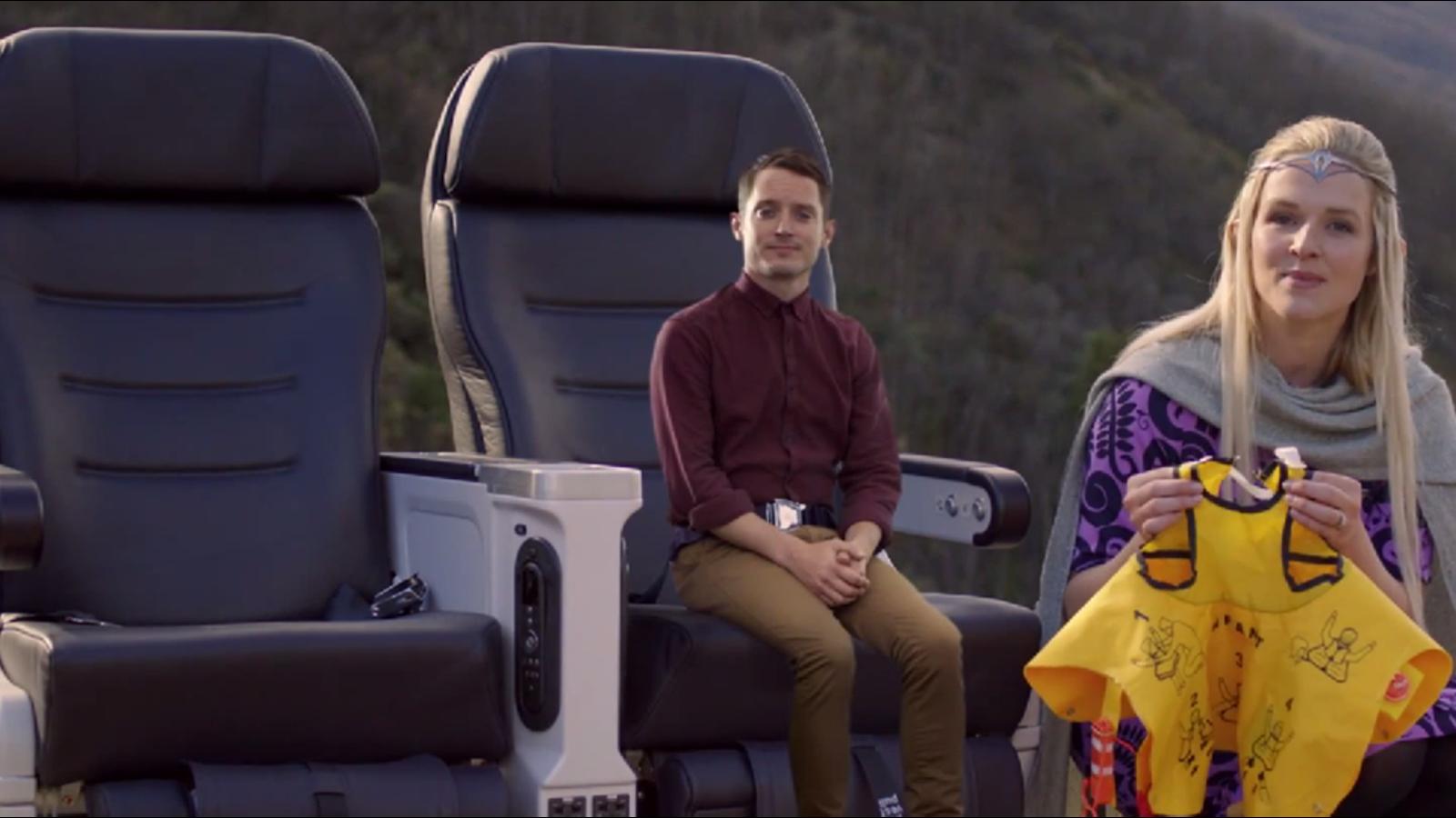 Air New Zealand crea el mejor vídeo de seguridad aérea con El Hobbit