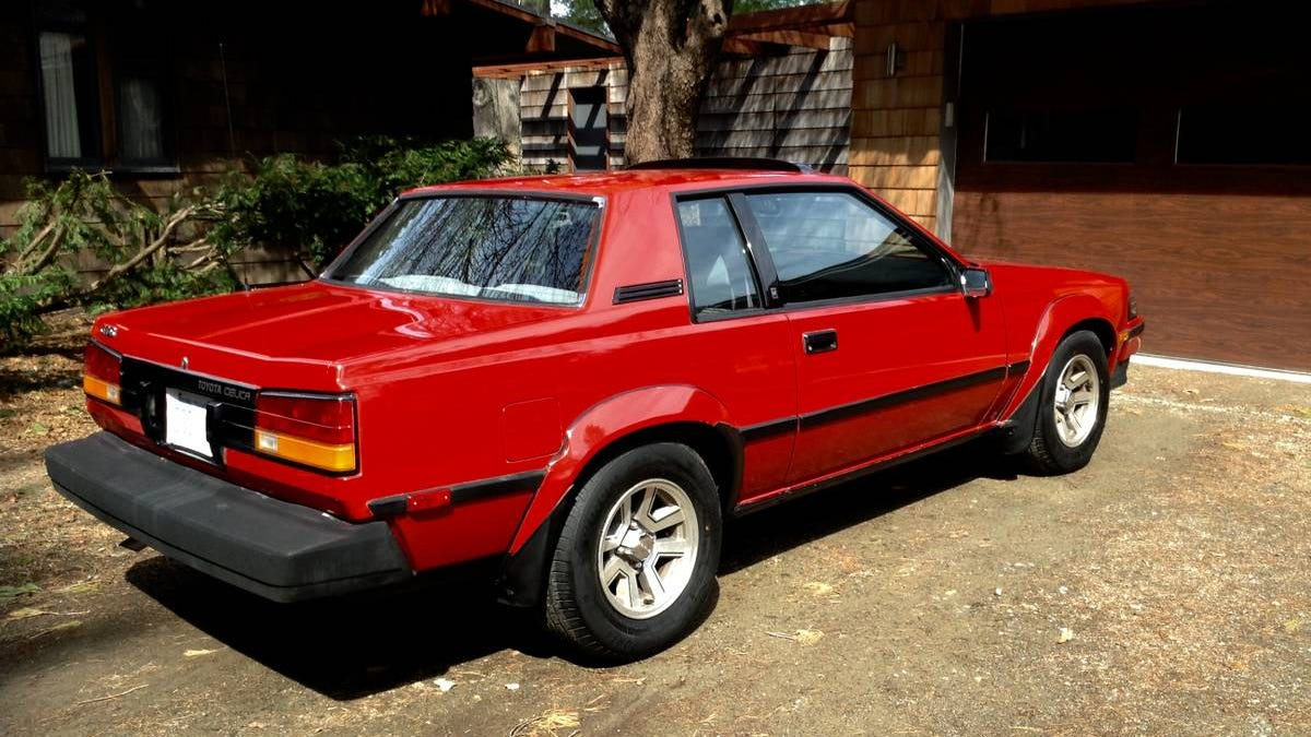 For $4,200, Could This 1984 Toyota Celica GTS Be A Notch On