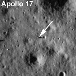 Illustration for article titled First New Images of the Apollo Landing Sites in 40 Years