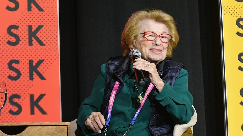 Illustration for article titled Dr. Ruth Will Now Break Down Sex For Millennials