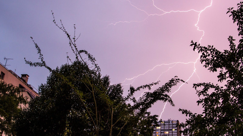 Incredible Observation Links Two Different Radioactive Phenomena Inside a Thunderstorm