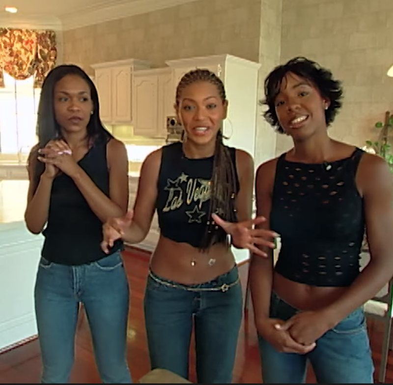 Illustration for article titled A Minute-by-Minute Breakdown of the Destiny's Child Episode of MTV Cribs in 2000